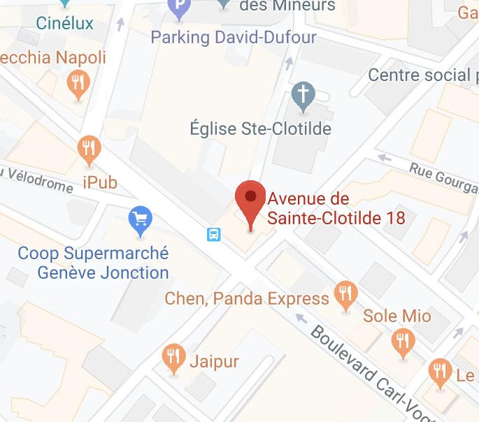 Emplacement 50A sur google maps